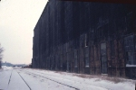 1126-16 Great Northern Elevator at BN Lyndale Yard undergoing demolition