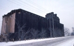 1126-18 Great Northern Elevator at BN Lyndale Yard undergoing demolition