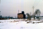 1126-20 Great Northern Elevator at BN Lyndale Yard undergoing demolition