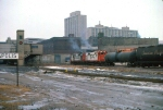 1127-17 SOO Railway Job passing Mpls GN Depot on C&NW Railway Transfer