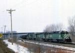 1144-04 Eastbound BN coal train