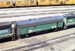 1152-21 BN Northtown Yard hump switcher set