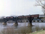 1155-05 Royal Hudson CP 2860 crossing Camden Bridge