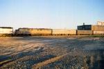 1166-14 Westbound Amtrak Empire Builder arrives Midway Station