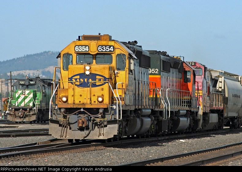 BNSF 6354