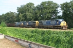 CSX SB empty coal train