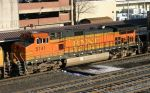 BNSF 5141 passes through