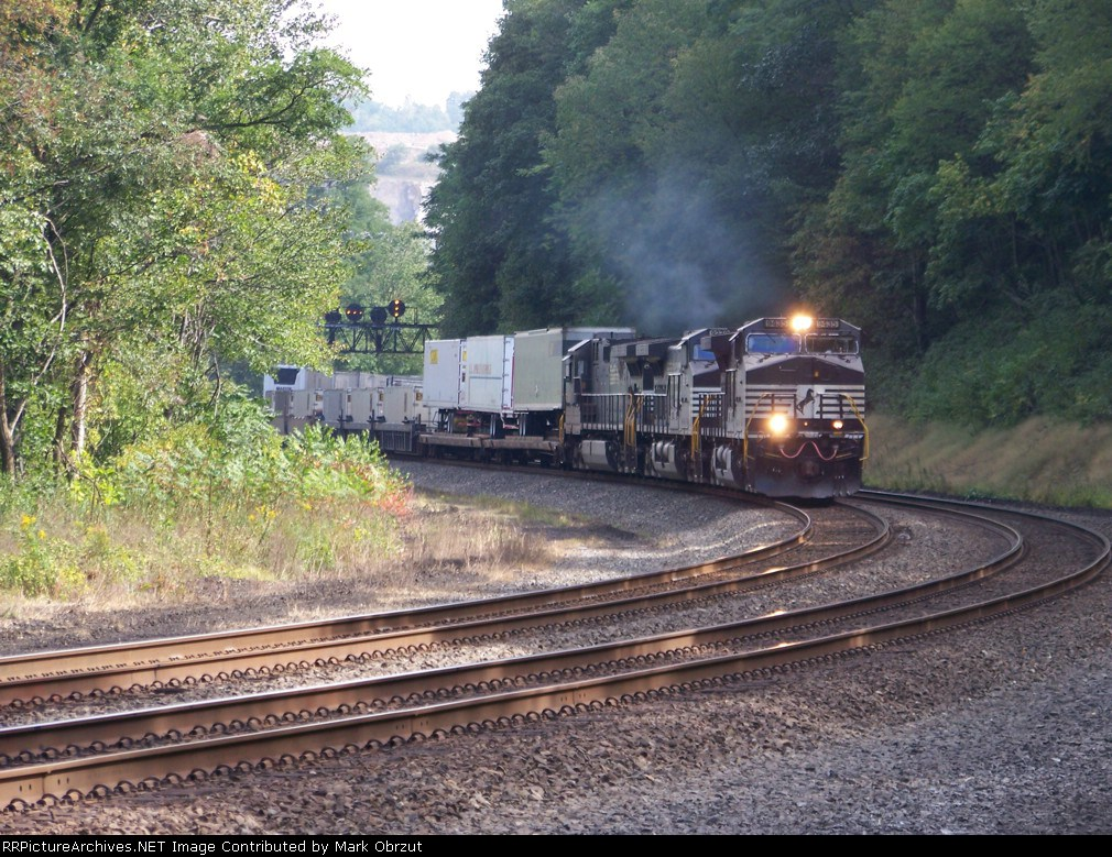 Norfolk Southern 9435, 9279, and 8827