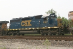 CSX 8317 on NB freight