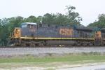 CSX 5468 on NB phosphate train