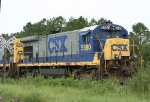 CSX 5580 local power