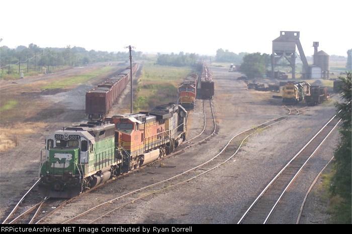 BNSF 3021