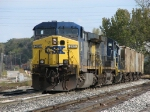 CSX 241 & 14 lug a massive Q335-19 into the yard