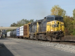 CSX 213 starts east leading Q326-22 with 12 cars