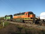 BNSF 6929 & 7055