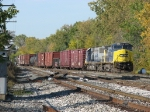 CSX 7357 & 8541 take Q326-11 from Track 2 to the Odd Side