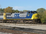 The unique to CSX, engine 7357