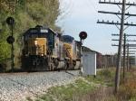 K357-10 splits the Port Sheldon signals