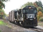 NS 3537 & 3530 lead 36E northward just south of Fisher