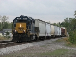 CSX 2636 waits to head north to the yard with D744-03