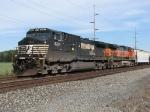 NS 9281 & BNSF 1077