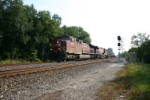 CP 9652 leads empty wells cars west