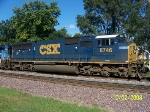 Closeup of CSX 8746