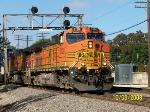 BNSF 5128 leads eastbound