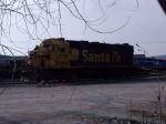 Trashed BNSF 2211
