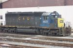 A 36yr old factory paint job outlasts the newer CSX paint