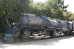 Big Boy 4014 sitting slowly rotting away....