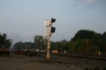New home signal coming out of Porter yard
