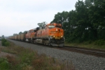 BNSF 6097 with coal