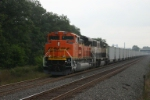 BNSF 9290 with new Consumer Power hoppers