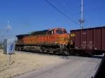 BNSF 5093 Brings up the Rear