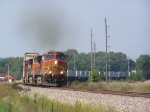 BNSF 4688 Takes Trailers to Chicago