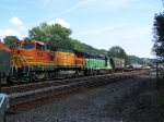 """Westbound Freight """"Blows"""" Through Town at 30 mph"""