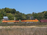 Westbound Empty Hoppers