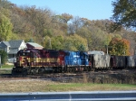 Local Consist of BNSF Hoppers
