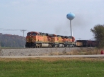 Fun GE Assortment Leads a Westbound Freight Manifest