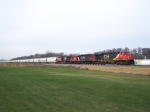 New Addition to RRPictureArchives.net: CN 2265 Leading a Grain Train