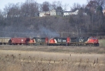 Mixed-model Lash-up on a Freight Train