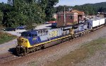 NB intermodal with a new crew