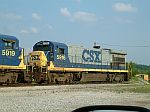CSX 5916 at the end of the line