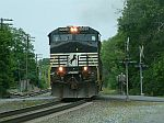 NS 9065 leads a SB intermodal train