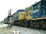 CSX 691 on a SB coal train