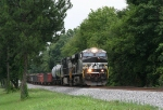 NB freight heading for Macon
