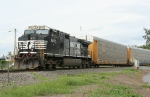 NS 9850 NB empty autorack