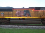 UP 8554s flag