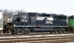 NS 5804, a rebuilt GP38-3,
